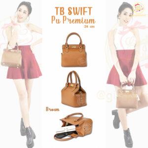 กระเป๋า Toolbox Swift ทูบ๊อก ไซส์ 24 สีbrown