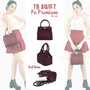 กระเป๋า Toolbox Swift ทูบ๊อก ไซส์ 24 สีred wine