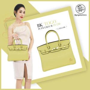 กระเป๋า birkin ไซส์ 25 ซ.ม. สีl.yellow