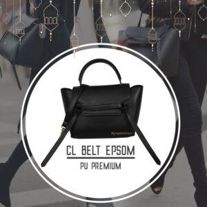 กระเป๋า celine belt ไซส์ 23 ซ.ม. สีBlack