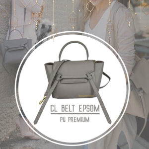 กระเป๋า celine belt ไซส์ 23 ซ.ม. สีGrey