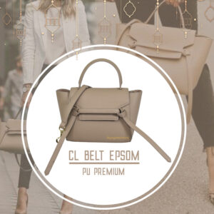 กระเป๋า celine belt ไซส์ 23 ซ.ม. สีGris-t