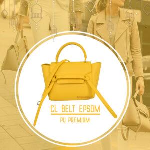 กระเป๋า celine belt ไซส์ 23 ซ.ม. สีYellow