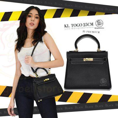 กระเป๋า kelly togo ไซส์ 25 ซ.ม. สีblack